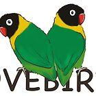 Lovebirds by lobitos