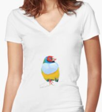 Goulian Finch Fitted V-Neck T-Shirt