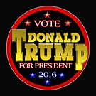 Donald Trump President 2016  by Valxart