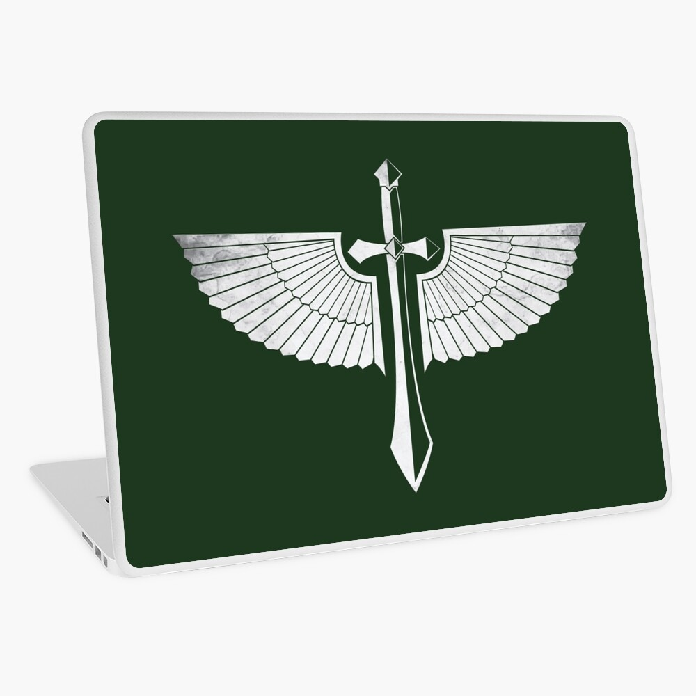 The winged Sword Laptop Skin