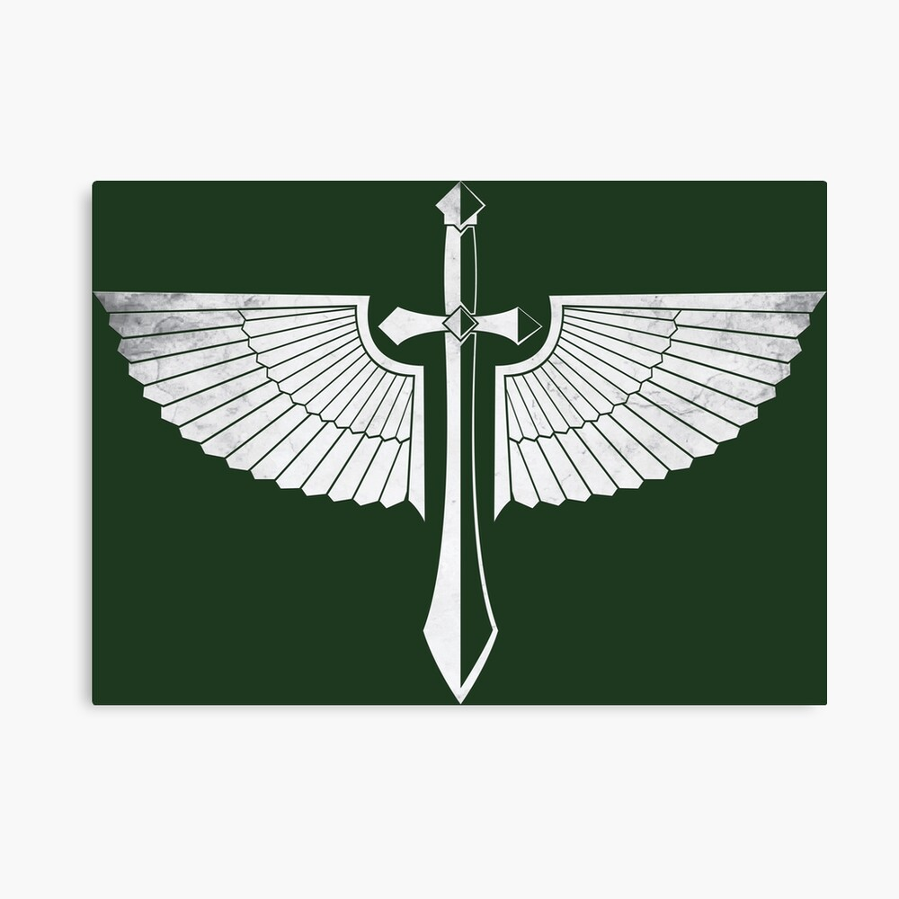 The winged Sword Canvas Print