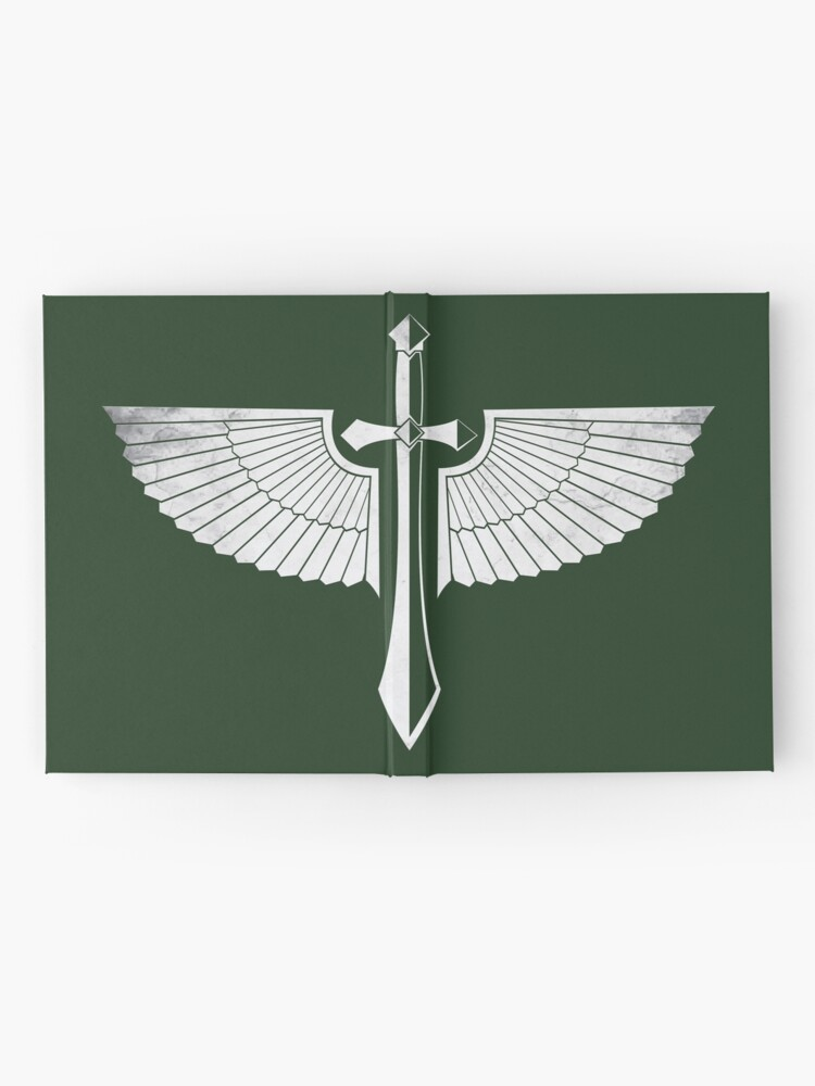 Alternate view of The winged Sword Hardcover Journal