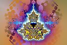 Mandelbrot 5-star Buddha by viennablue