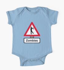 Caution: Zombies Kids Clothes