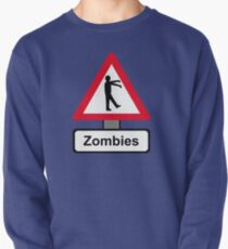 Caution: Zombies Pullover