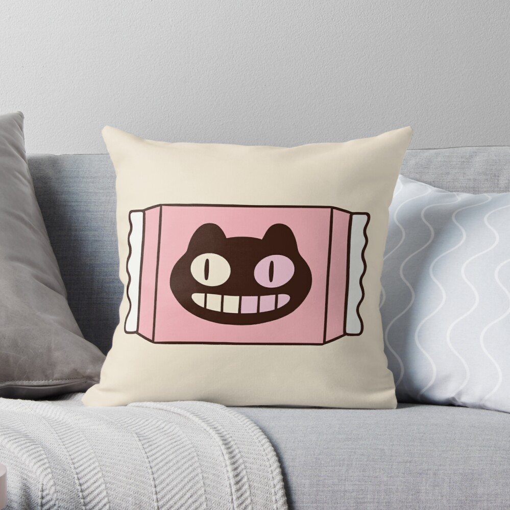 Cookie Cat from Steven Universe Throw Pillow