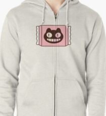 Cookie Cat from Steven Universe Zipped Hoodie