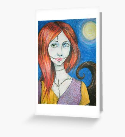 Sally Greeting Card