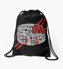 Drumline Marching Band Drawstring Bag