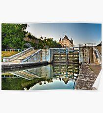 Rideau Canal Locks Poster
