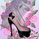 The Pink Shoe by LoneAngel