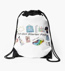 vsco girl starter pack, vsco girl packs Drawstring Bag