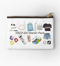 vsco girl starter pack, vsco girl packs Zipper Pouch