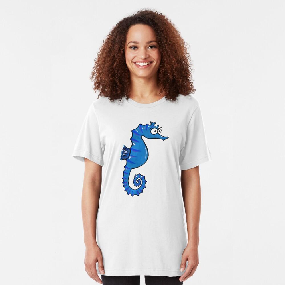 Seymour the Seahorse Slim Fit T-Shirt