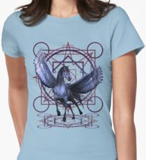 Pentacle Pegasus  Womens Fitted T-Shirt