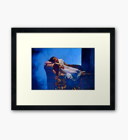 Clara in a Dream II Framed Print