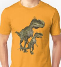 On The Hunt , Dinosaurs Unisex T-Shirt