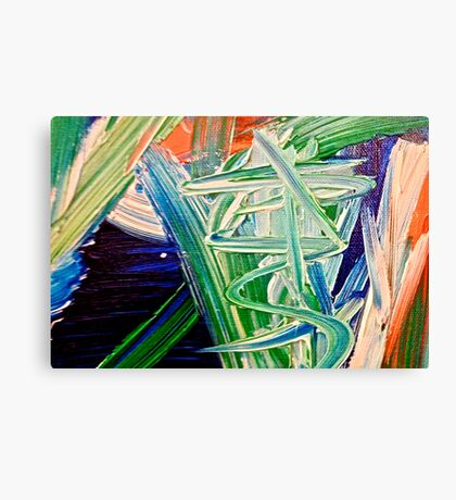 Abstract Painting by Scott Johnson ... Canvas Print