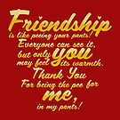 Copy of Copy of Friendship_quote_in_yellow by DoubleArchangel