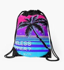 Endless Summer (Vaporwave) Drawstring Bag