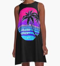 Endless Summer (Vaporwave) A-Line Dress
