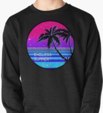 Endless Summer (Vaporwave) Pullover Sweatshirt
