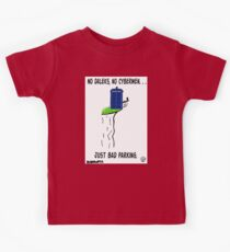 Doctor Who- Bad Parking! Kids Tee