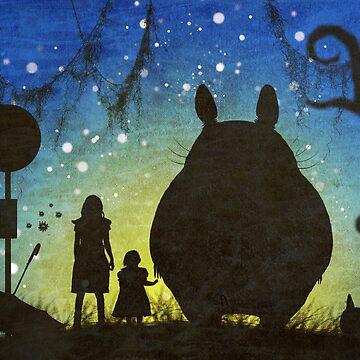 Small Spirits (Totoro) by ishbel