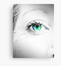 My eye Canvas Print