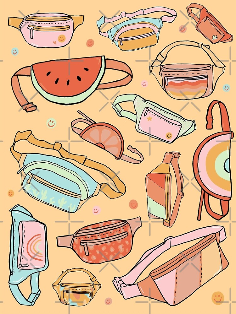 Fanny Packs by doodlebymeg