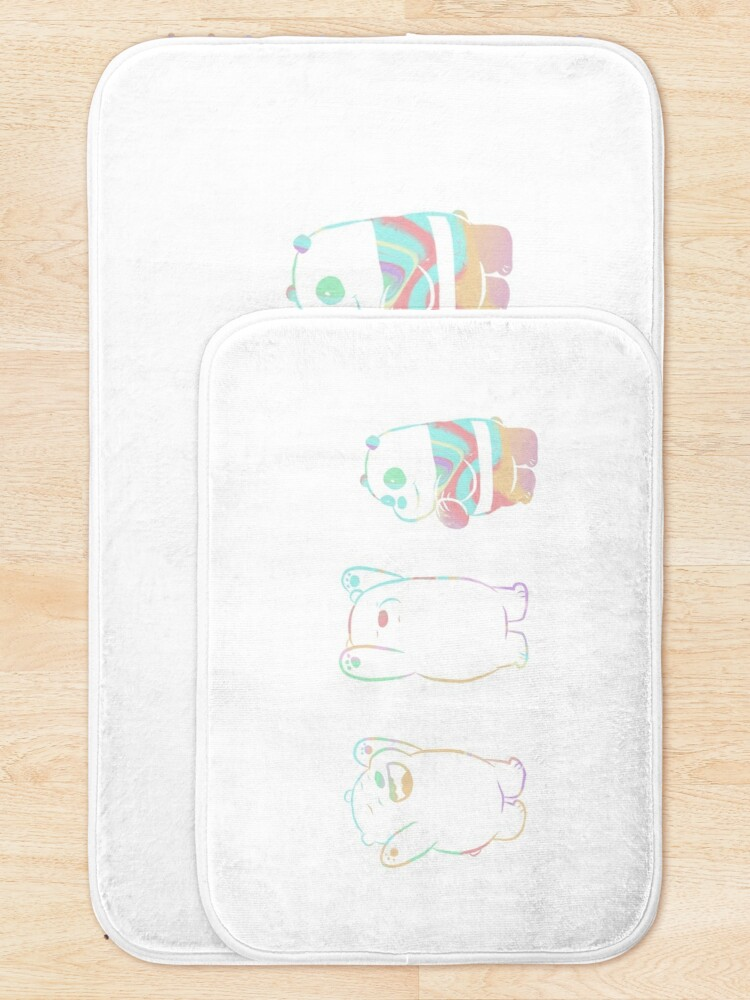 Alternate view of Baby We Bare Bears Bath Mat