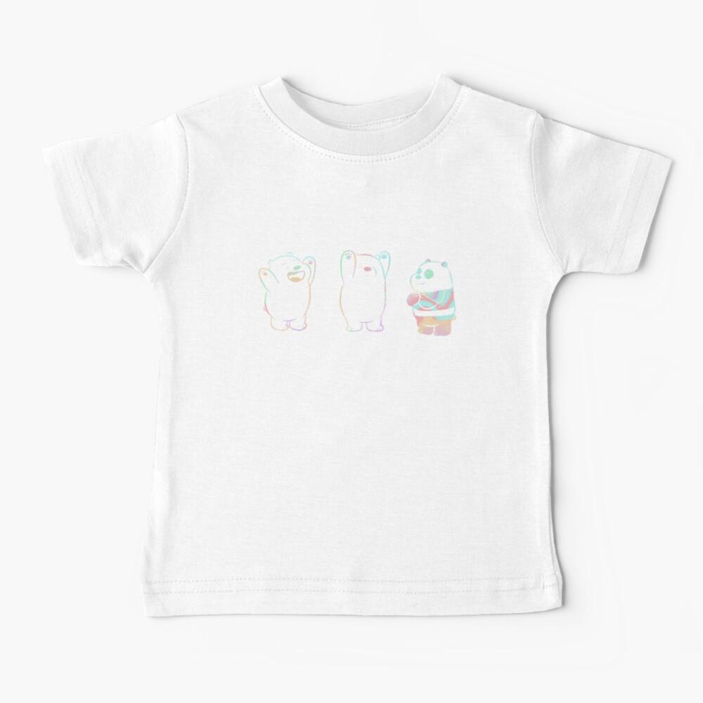 Baby We Bare Bears Baby T-Shirt