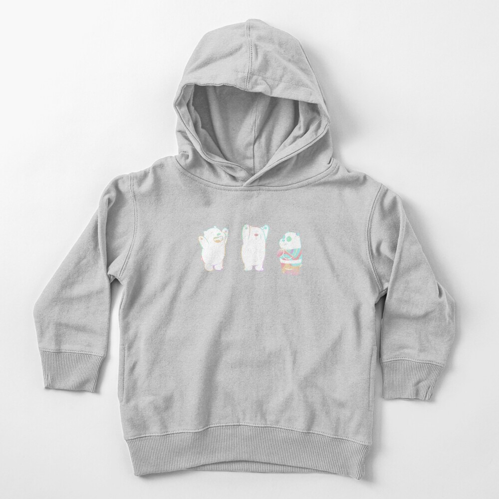 Baby We Bare Bears Toddler Pullover Hoodie