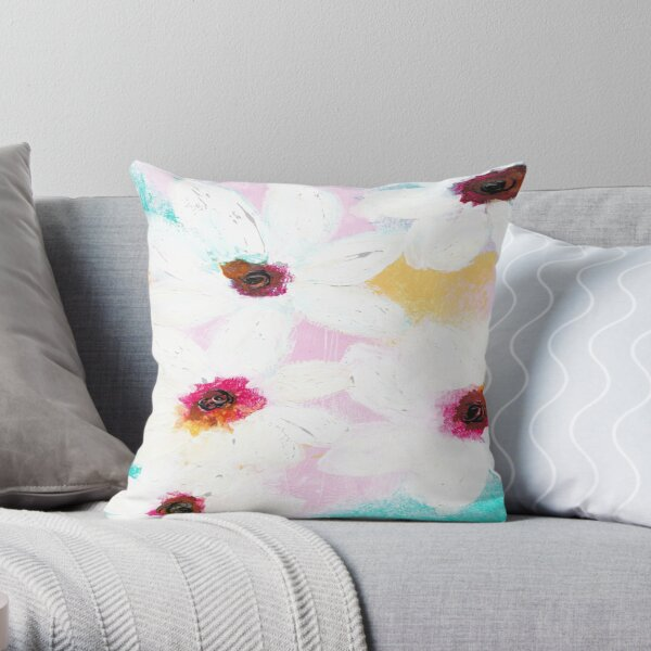 Meringue Dreams Throw Pillow