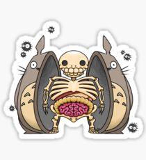 Inside Totoro Sticker