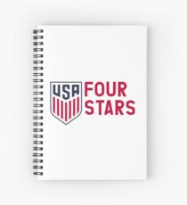 FOUR STARS Spiral Notebook