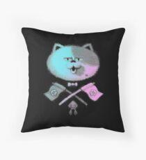 JUDD THE CAT Throw Pillow