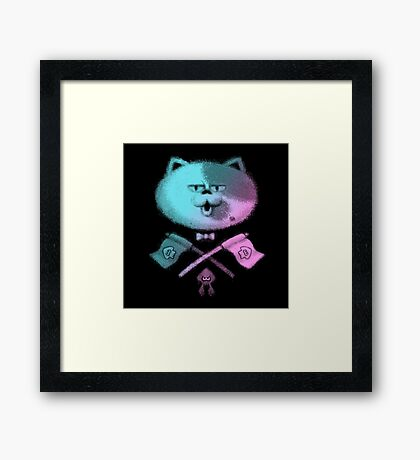 JUDD THE CAT Framed Print