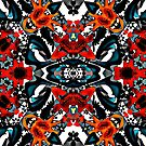 Colorful , abstract pattern by fuzzyfox