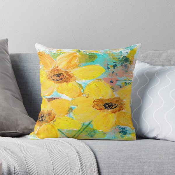 SUNSHINE DELIGHT Throw Pillow