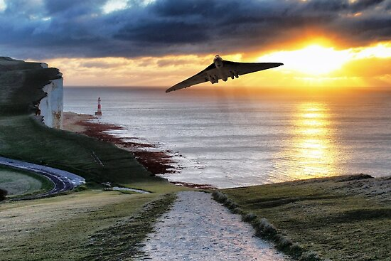 Finale Beachy Head Sortie von Airpower Art