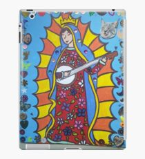 Banjo Playing Virgin Mary iPad Case/Skin