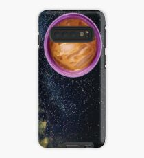 Purple Iced Coffee Planet Case/Skin for Samsung Galaxy