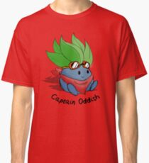 Captain Oddish Sketch Classic T-Shirt