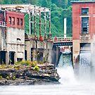 1899 Glen Ferris Hydroelectric Plant by Jeanne Sheridan