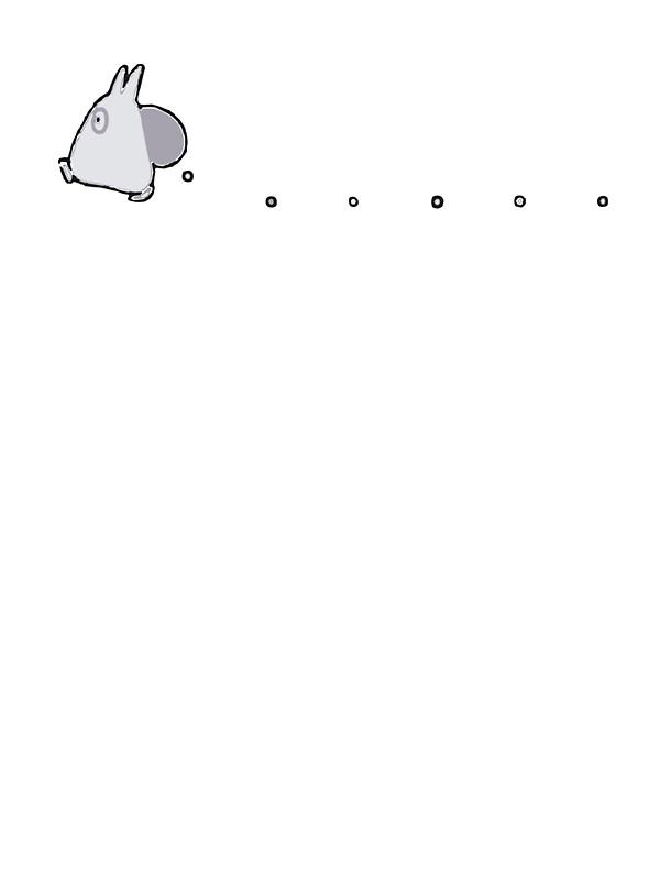 White Totoro 64618 Timehd
