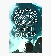 Mordor on the Orient Express Photographic Print