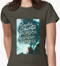 Mordor on the Orient Express Womens Fitted T-Shirt