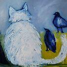 Cat Among the Pigeons by sarenart