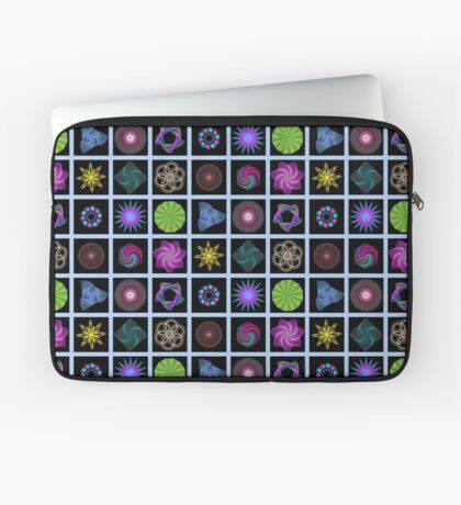 Beautiful colorful geometric shapes Laptop Sleeve